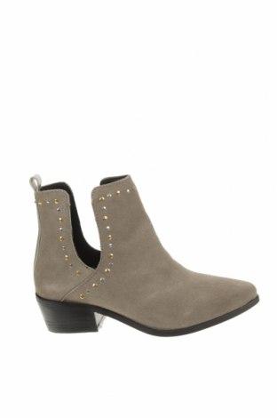 Дамски боти Copenhagen Shoes, Размер 38, Цвят Сив, Естествен велур, Цена 259,00лв.