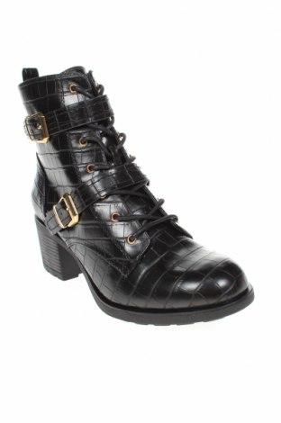 Дамски боти Dorothy Perkins, Размер 39, Цвят Черен, Еко кожа, Цена 89,00лв.