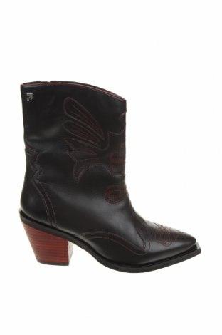 Дамски боти Gioseppo, Размер 37, Цвят Черен, Естествена кожа, Цена 149,00лв.