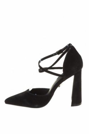 Дамски обувки Topshop, Размер 37, Цвят Черен, Естествен велур, Цена 33,00лв.