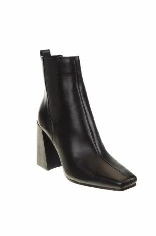 Дамски боти Topshop, Размер 37, Цвят Черен, Естествена кожа, Цена 159,00лв.