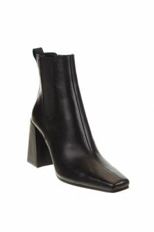 Дамски боти Topshop, Размер 38, Цвят Черен, Естествена кожа, Цена 159,00лв.