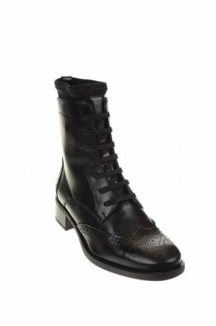 Дамски боти Unisa, Размер 36, Цвят Черен, Естествена кожа, Цена 149,00лв.
