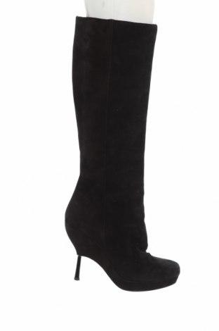 Γυναικείες μπότες & Other Stories, Μέγεθος 40, Χρώμα Μαύρο, Φυσικό σουέτ, Τιμή 23,08€
