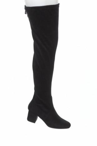 Дамски ботуши Anna Field, Размер 41, Цвят Черен, Текстил, Цена 64,00лв.