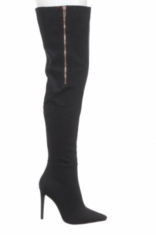 Дамски ботуши Bebo, Размер 40, Цвят Черен, Текстил, Цена 99,00лв.