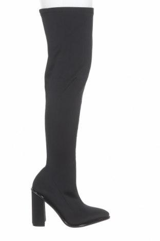 Дамски ботуши Bebo, Размер 41, Цвят Черен, Текстил, Цена 99,00лв.