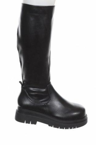 Дамски ботуши Koi footwear, Размер 39, Цвят Черен, Еко кожа, Цена 79,00лв.