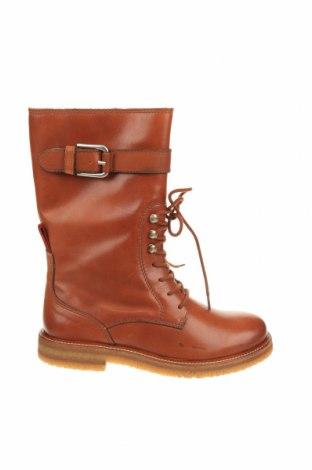 Γυναικείες μπότες Marc O'Polo, Μέγεθος 38, Χρώμα Καφέ, Γνήσιο δέρμα, Τιμή 37,81€