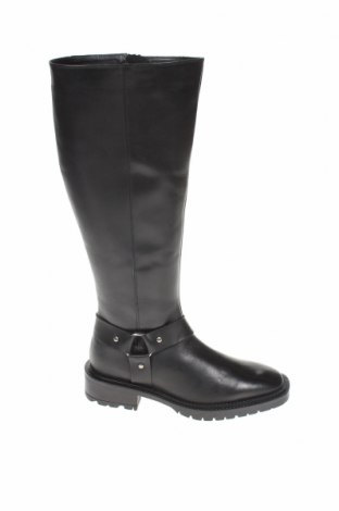 Дамски ботуши V by Very, Размер 38, Цвят Черен, Естествена кожа, Цена 87,91лв.