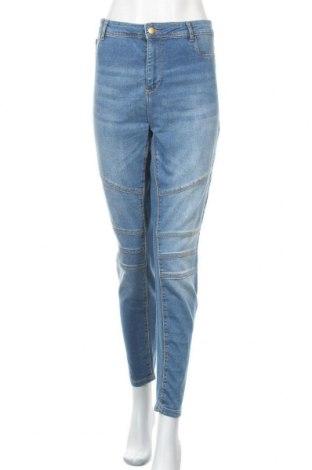 Dámské džíny  Janina, Velikost XL, Barva Modrá, 82% bavlna, 16% polyester, 2% elastan, Cena  401,00Kč