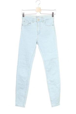 Дамски дънки Lefties, Размер S, Цвят Син, 98% памук, 2% еластан, Цена 32,44лв.