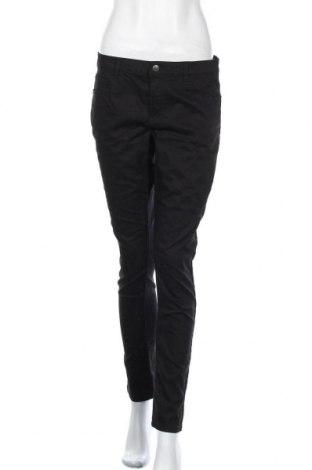 Дамски дънки Lh By La  Halle, Размер L, Цвят Черен, 58% памук, 38% полиестер, 4% еластан, Цена 21,95лв.