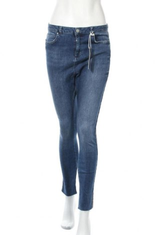 Дамски дънки Mint Velvet, Размер M, Цвят Син, 98% памук, 2% еластан, Цена 32,11лв.