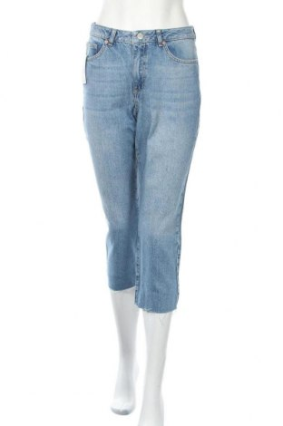 Дамски дънки Miss Selfridge, Размер M, Цвят Син, Памук, Цена 27,87лв.