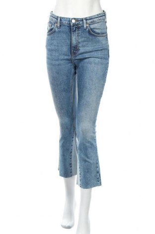 Дамски дънки Mtwtfss Weekday, Размер M, Цвят Син, 98% памук, 2% еластан, Цена 35,88лв.