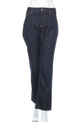 Дамски дънки NYDJ, Размер XL, Цвят Син, 80% памук, 19% полиестер, 1% еластан, Цена 12,29лв.