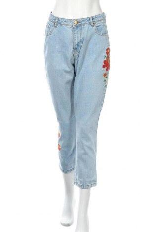 Дамски дънки Neon Rose, Размер S, Цвят Син, 70% памук, 30% полиестер, Цена 44,25лв.