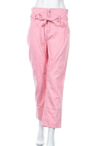 Дамски дънки Redial, Размер XL, Цвят Розов, Памук, Цена 24,36лв.