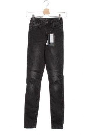 Дамски дънки Vero Moda, Размер XS, Цвят Сив, 90% памук, 8% полиестер, 2% еластан, Цена 24,22лв.