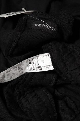 Γυναικεία σαλοπέτα Even&Odd, Μέγεθος XS, Χρώμα Μαύρο, 60% βαμβάκι, 40% πολυεστέρας, Τιμή 16,15€
