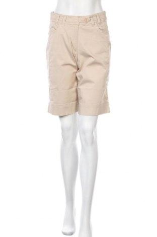 Дамски къс панталон Abacus, Размер S, Цвят Бежов, 96% памук, 4% еластан, Цена 14,80лв.