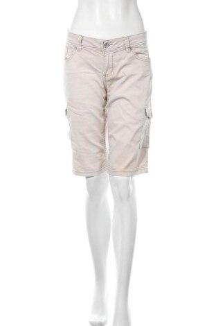 Дамски къс панталон Buena Vista, Размер M, Цвят Бежов, 65% памук, 33% полиестер, 2% еластан, Цена 14,28лв.