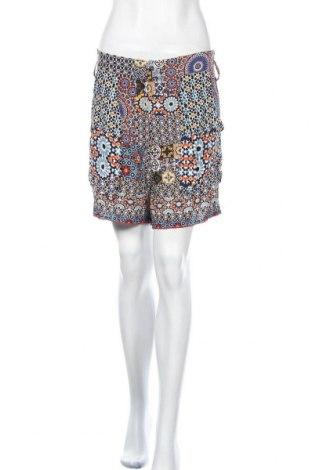 Γυναικείο κοντό παντελόνι Desigual, Μέγεθος S, Χρώμα Πολύχρωμο, Βισκόζη, Τιμή 19,10€