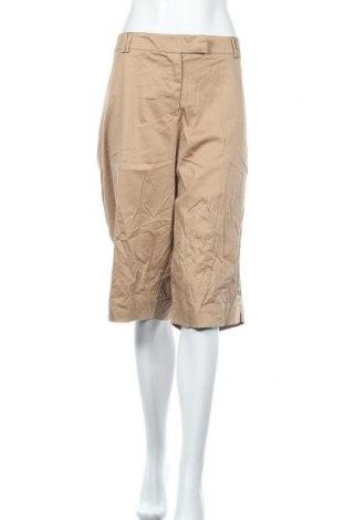 Дамски къс панталон George, Размер XXL, Цвят Бежов, 97% памук, 3% еластан, Цена 4,46лв.