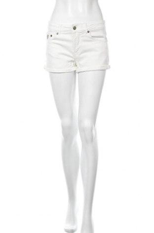 Дамски къс панталон Lois, Размер S, Цвят Бял, 90% памук, 7% полиестер, 3% еластан, Цена 36,57лв.