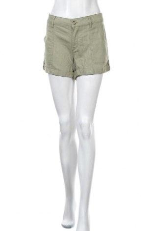 Дамски къс панталон Roxy, Размер XL, Цвят Зелен, Памук, Цена 6,72лв.