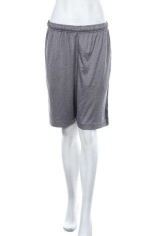Дамски къс панталон SOC, Размер L, Цвят Сив, Полиестер, Цена 17,64лв.