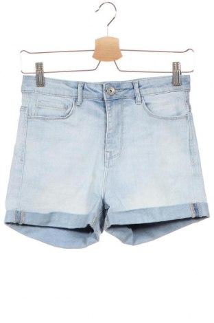 Дамски къс панталон Zebra, Размер XS, Цвят Син, Цена 16,96лв.