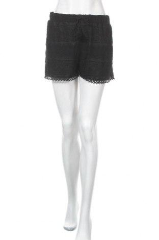 Дамски къс панталон Zebra, Размер M, Цвят Черен, Полиамид, Цена 13,39лв.