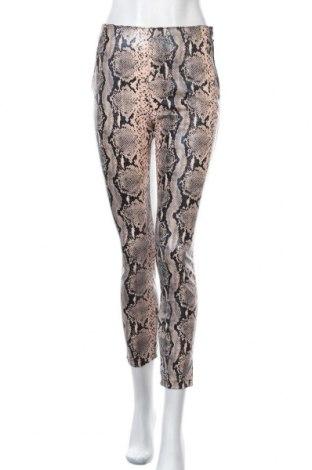 Дамски кожен панталон Lefties, Размер S, Цвят Многоцветен, Еко кожа, Цена 24,14лв.