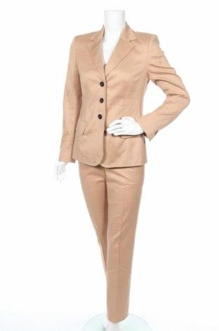 Dámský kostým   Escada, Velikost S, Barva Béžová, 98% bavlna, 2% elastan, Cena  1221,00Kč