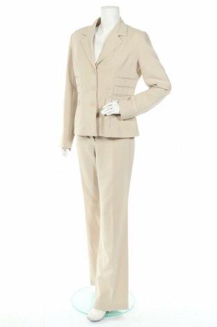 Дамски костюм Laura Scott, Размер M, Цвят Бежов, Полиестер, Цена 16,91лв.