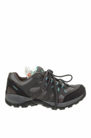 Γυναικεία παπούτσια, Μέγεθος 37, Χρώμα Γκρί, Γνήσιο δέρμα, κλωστοϋφαντουργικά προϊόντα, Τιμή 22,81€