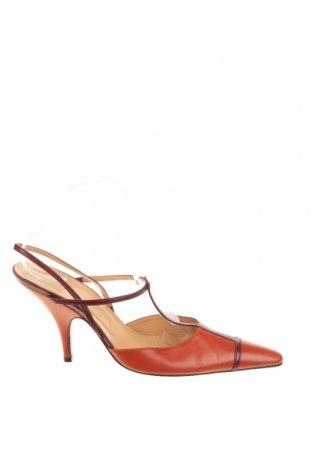 Дамски обувки Bally, Размер 41, Цвят Кафяв, Естествена кожа, Цена 93,84лв.