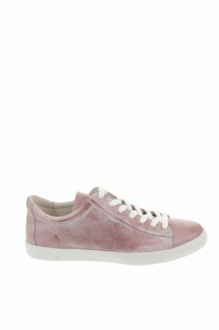Дамски обувки Cashott, Размер 39, Цвят Пепел от рози, Естествена кожа, Цена 72,67лв.