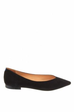 Γυναικεία παπούτσια Chatelles, Μέγεθος 38, Χρώμα Μαύρο, Φυσικό σουέτ, Τιμή 35,90€