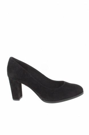Γυναικεία παπούτσια Clarks, Μέγεθος 37, Χρώμα Μαύρο, Φυσικό σουέτ, Τιμή 32,15€