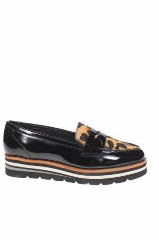 Γυναικεία παπούτσια Dune, Μέγεθος 37, Χρώμα Μαύρο, Γνήσιο δέρμα, φυσική τρίχα, Τιμή 39,05€