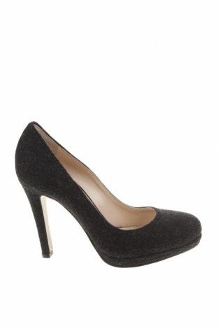Дамски обувки Evita, Размер 35, Цвят Сив, Текстил, Цена 26,46лв.