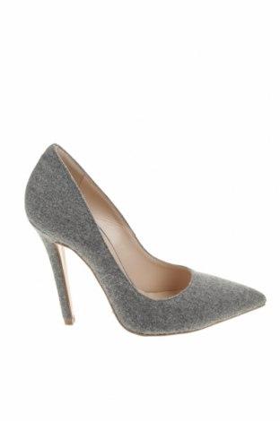 Γυναικεία παπούτσια Evita, Μέγεθος 37, Χρώμα Γκρί, Κλωστοϋφαντουργικά προϊόντα, Τιμή 18,06€