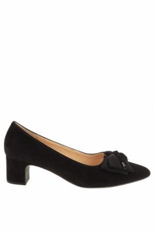 Дамски обувки Gabor, Размер 41, Цвят Черен, Естествен велур, Цена 96,75лв.
