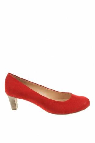 Γυναικεία παπούτσια Gabor, Μέγεθος 40, Χρώμα Κόκκινο, Κλωστοϋφαντουργικά προϊόντα, Τιμή 26,68€