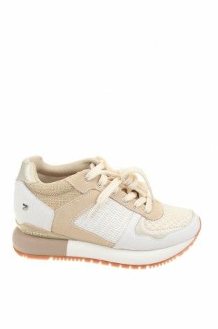 Γυναικεία παπούτσια Gioseppo, Μέγεθος 36, Χρώμα Λευκό, Δερματίνη, κλωστοϋφαντουργικά προϊόντα, φυσικό σουέτ, Τιμή 39,44€