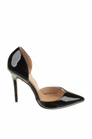 Γυναικεία παπούτσια Head Over Heels, Μέγεθος 38, Χρώμα Μαύρο, Γνήσιο δέρμα, Τιμή 46,01€