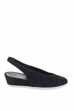 Дамски обувки Hogl, Размер 39, Цвят Син, Естествен велур, Цена 137,97лв.